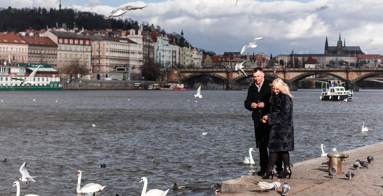 Fotogalerie: #5 nábřeží Vltavy