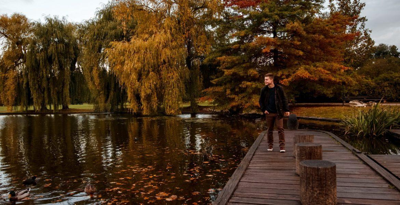 Pánské podzimní focení v Praze v parku Stromovka